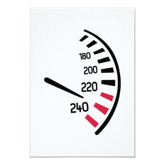 Speed car personalized invite