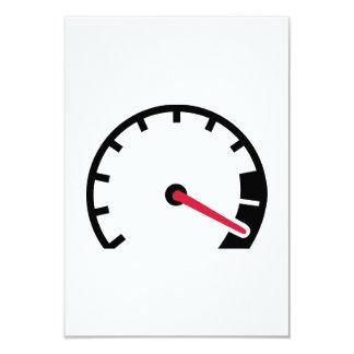 Speed car speedometer announcement