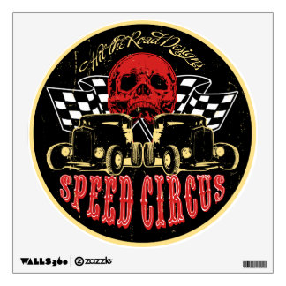 Speed Circus - Hit the Road Designs original art Wall Decal