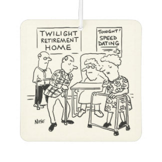Speed Dating at the Care Home Air Freshener