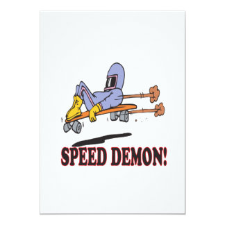 Speed Demon Card