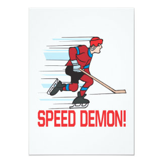 Speed Demon Custom Announcement
