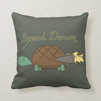 Speed Demon Pillow
