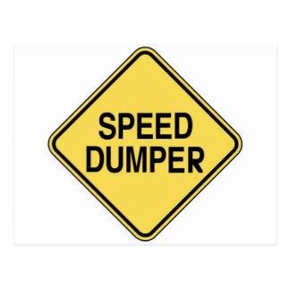 Speed Dumper Postcard