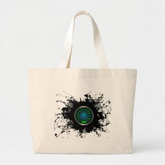 Speed Emblem Urban Style 5 Large Tote Bag