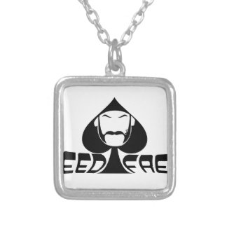 Speed Freak Silver Plated Necklace