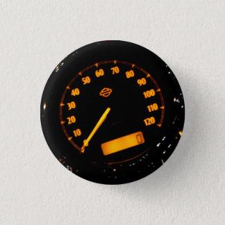 Speed Gauge Pinback Button
