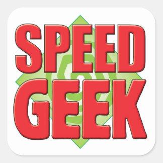 Speed Geek v2 Square Sticker