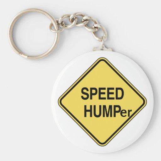 Speed Humper Key Chains