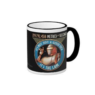 Speed Limit - 299,792,458 Metres per Second Mug