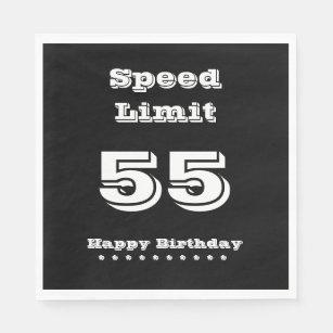 Speed Limit 55 Happy Birthday