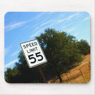 Speed Limit 55 Mousepad
