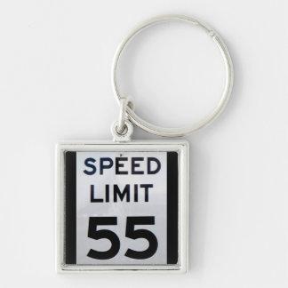 Speed Limit 55 Sign -  Keychains