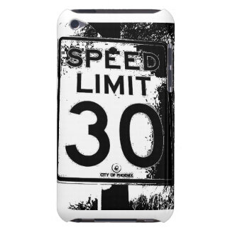 Speed limit Case-Mate iPod touch case