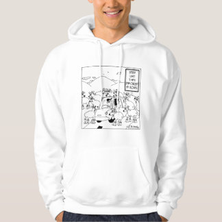 Speed Limit Enforced By Goats Hoodie