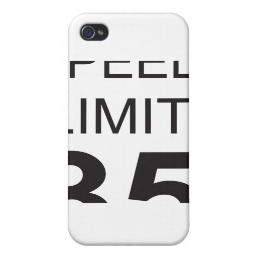 Speed Limit Covers For iPhone 4