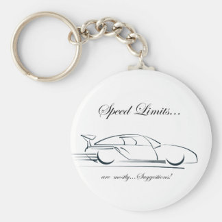 Speed Limits...are mostly suggestions! Keychain