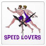 Speed lovers clocks