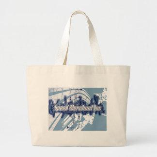 Speed Merchant Inc Large Tote Bag
