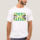 Speed Nation Jamaican Flag Singlet T-Shirt