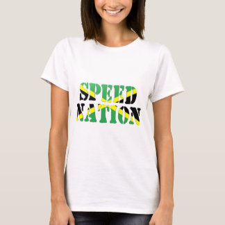 Speed Nation Jamaican Flag T-Shirt