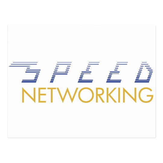 Speed Networking Postcard