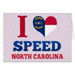 Speed, North Carolina Greeting Card
