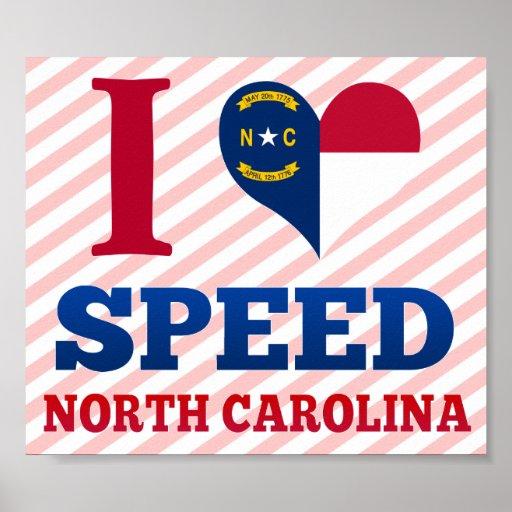 Speed, North Carolina Posters