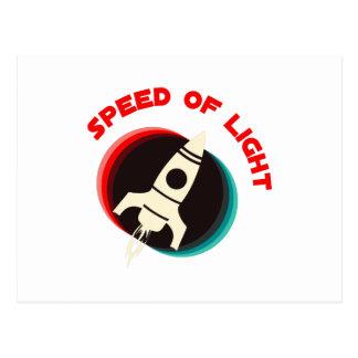 Speed of Light Postcards