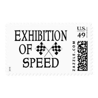 Speed Postage Stamp