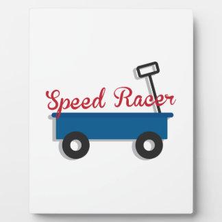 Speed Racer Plaques