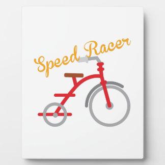 Speed Racer Photo Plaque