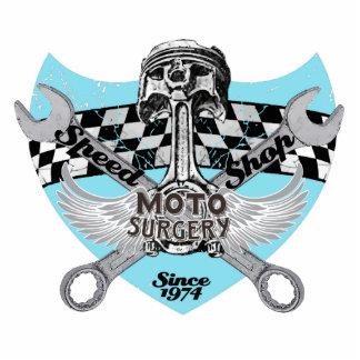 Speed shop Moto surgery Cutout