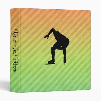 Speed Skater Vinyl Binders