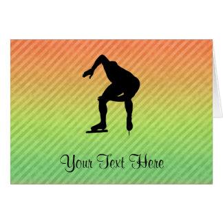 Speed Skater Card