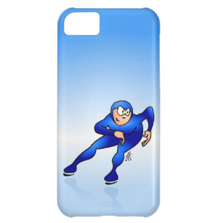 Speed skater cover for iPhone 5C