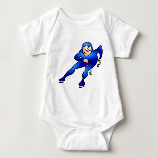 Speed skater - Ice skater Baby Bodysuit