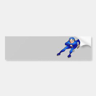 Speed skater - Ice skater Bumper Sticker