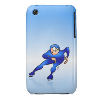 Speed skater iPhone 3 Case-Mate case