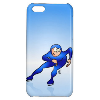 Speed skater iPhone 5C cover