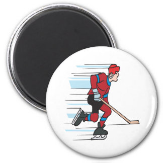 Speed Skater Magnet