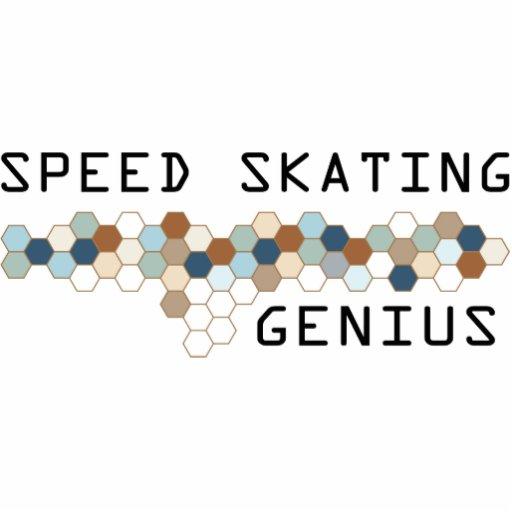 Speed Skating Genius Photo Cutouts