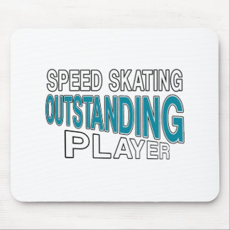 SPEED SKATING OUTSTANDING PLAYER MOUSE PAD