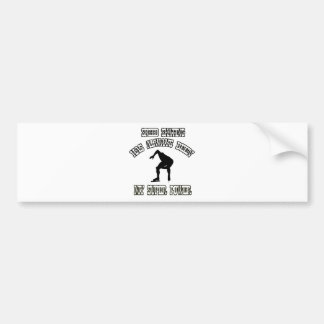 SPEED SKATING sports designs Bumper Sticker