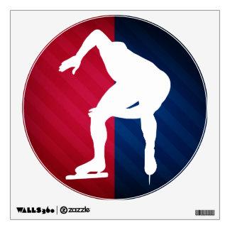 Speed Skating; Wall Decor