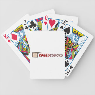Speed Sudoku Bicycle Playing Cards