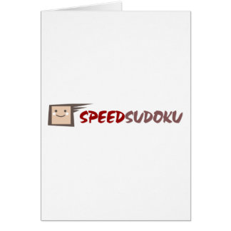 Speed Sudoku Card
