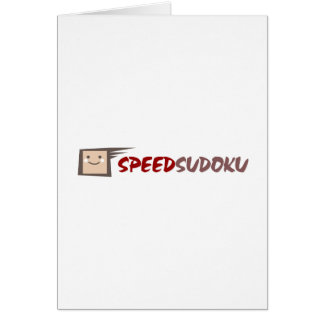 Speed Sudoku Card