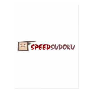 Speed Sudoku Postcard