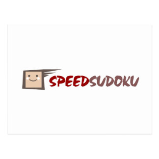 Speed Sudoku Postcard